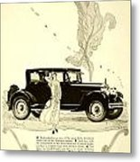 1924 - Rickenbacker Automobile Advertisement Metal Print
