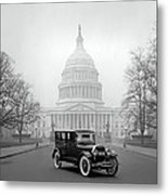 1924 Ford Lincoln At U. S. Capitol Metal Print