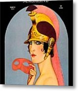 1924 - Theatre Magazine Cover - Color Metal Print