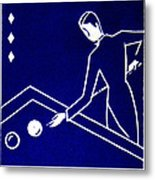 1925 Akatsuki Billiards Of Japan Metal Print