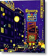 1925 New York City At Night Metal Print