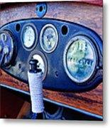 1925 Stutz Series 695h Speedway Six Torpedo Tail Speedster Dashboard Instruments Metal Print