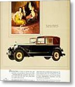 1926 - Packard Automobile Advertisement - Color Metal Print