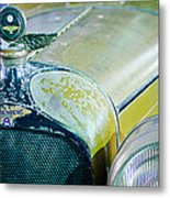 1926 Duesenberg Hood Ornament - Motometer Metal Print