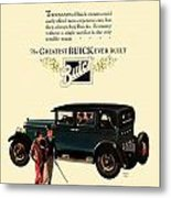 1927 - Buick Automobile - Color Metal Print