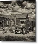 1927 Dodge Braham Bodie Ca Sepia Img 7299 Metal Print