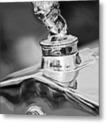 1927 Franklin Sedan Hood Ornament 2 Metal Print by Jill Reger