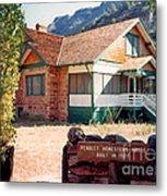1927 Pendley Homestead House Sedona Metal Print
