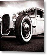 1928 A Coupe Metal Print by Phil 'motography' Clark