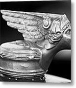 1928 Buick Custom Speedster Hood Ornament 3 Metal Print