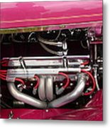 Antique Car Engine Metal Print