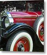 1928 Hupmobile Century Model E4 4 Door Sedan Metal Print
