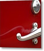 1928 Rolls-royce Phantom I Sedenca De Ville Door Handle Metal Print