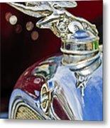 1928 Studebaker Hood Ornament 2 Metal Print by Jill Reger