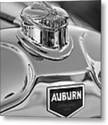 1929 Auburn 8-90 Speedster Hood Ornament 2 Metal Print by Jill Reger