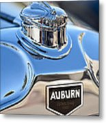 1929 Auburn 8-90 Speedster Hood Ornament Metal Print