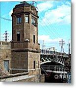 1929 Dix Lift Bridge Metal Print