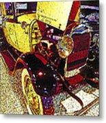 1929 Ford Digital Art Metal Print