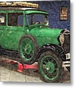 1929 Ford Model A By Liane Wright Metal Print