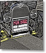 1929 Ford Model A For Sale Metal Print