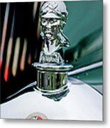 1929 Minerva Hood Ornament Metal Print