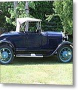 1929 Model-a Roadster 4 Metal Print