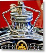 1929 Packard 8 Hood Ornament 2 Metal Print