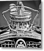 1929 Packard 8 Hood Ornament 4 Metal Print