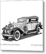 1931 Cadillac Phaeton Metal Print by Jack Pumphrey