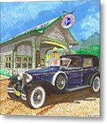 1930 Cord L Towncar Metal Print