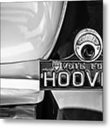1930 Db Dodge Brothers Taillight Emblem -030bw Metal Print