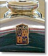 1930 Desoto K Hood Ornament Emblem Metal Print