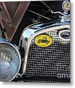 1930 Ford Model A - Front End - 7497 Metal Print