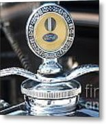 1930 Ford Model A - Hood Ornament - 7488 Metal Print