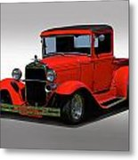 1930 Ford Model A Pick Up Metal Print
