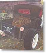 1930 Ford Pick Up Truck/reaper Metal Print