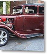 1930 Ford Two Door Sedan Side View Metal Print