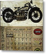 1930 Indian 402 Metal Print by Cinema Photography