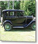 1930 Model-a Town Car 1 Metal Print