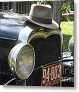 1930 Model-a Town Car 2 Metal Print