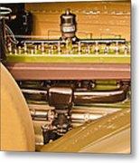 1930 Packard Speedster Runabout Engine -0539c Metal Print