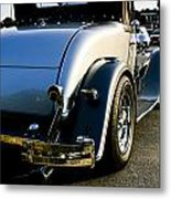 1930 Plymouth Bumper And Tail Light Metal Print