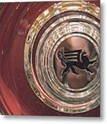 1930 Ruxton Wheel Metal Print