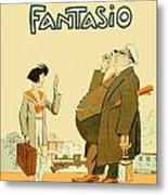 1931 - Fantasio French Magazine Cover - September - Color Metal Print