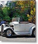 1931 Ford 'model A' Roadster Metal Print