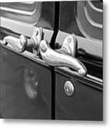 1931 Ford Model T Door Handles Metal Print