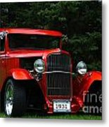 1931 Ford Panel Delivery Truck  Metal Print