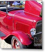 1931 Ford With Rumble Seat Metal Print