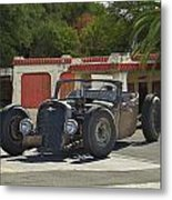 1931 Rataoulle 'rat Rod' Metal Print