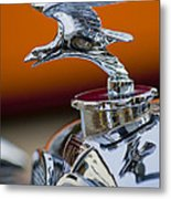 1932 Alvis Hood Ornament 2 Metal Print
